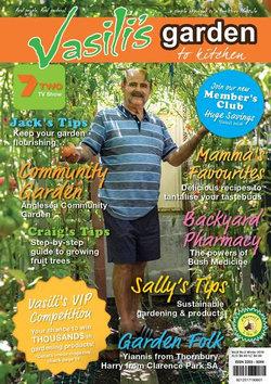 Vasili's Garden to Kitchen Magazine - 12 Month Subscription