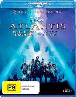 Atlantis: The Lost Empire and Milo's Return (2 Movie Collection)