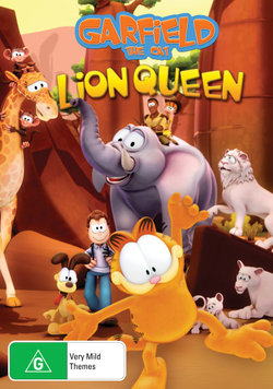 Garfield The Cat: Lion Queen