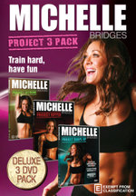 Michelle Bridges: Project 3 Pack ( Michelle Bridges Project Extreme / Project Ripped / Project Shape-Up)