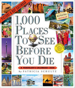 2020 1,000 Places to See Before You Die Picture a Day Calendar
