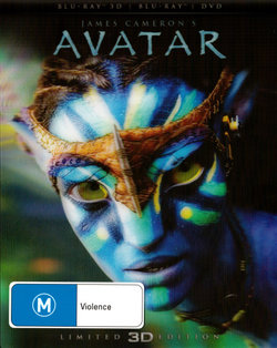 Avatar (James Cameron's) (Limited 3D Edition) (3D Blu-ray/Blu-ray/DVD)