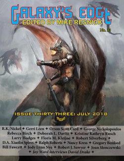 Galaxy's Edge Magazine: Issue 33, July 2018