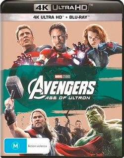 Avengers: Age of Ultron (4K UHD/Blu-ray)