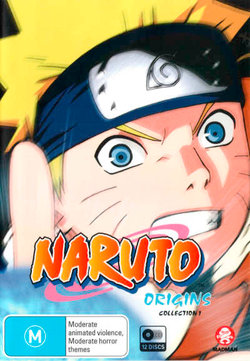 Naruto (Uncut): Origins Collection 01 (Eps 1-52)