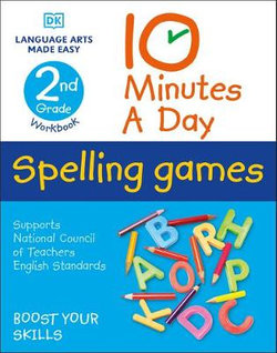 10 Minutes a Day Spelling Games, 2nd Grade