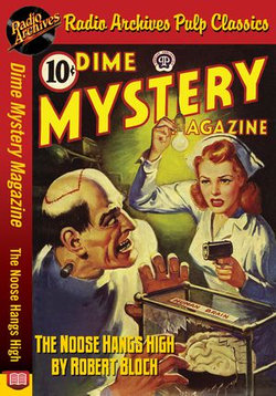 Dime Mystery Magazine - The Noose Hangs