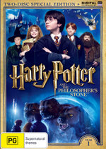 Harry Potter and the Philosopher's Stone (Year 1) (Two-Disc Special Edition) (DVD/UV)
