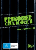 Prisoner Cell Block H: Volume 8 - Episodes 225 - 256