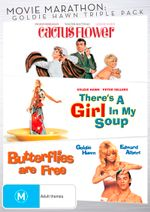 Movie Marathon: Goldie Hawn Triple Pack (Cactus Flower / There's A Girl In My Soup / Butterflies are Free)