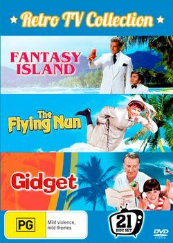Retro TV Collection (Fantasy Island (1977): Seasons 1 - 2 / Gidget (1965): Season 1 / The Flying Nun: Seasons 1 - 2 )