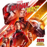 Antman and The Wasp Official 2019 Square Wall Calendar