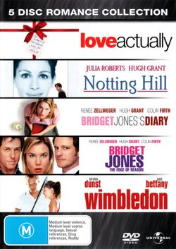5 Disc Romance Collection (Love Actually / Notting Hill / Bridget Jones's Diary / Bridget Jones: The Edge of Reason / Wimbledon)
