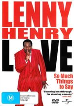 Lenny Henry: Live - So Much Things To Say
