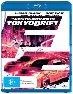 The Fast and the Furious: Tokyo Drift (Blu-ray/UV)