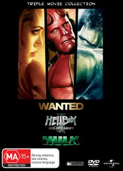 Hellboy II: The Golden Army / Hulk (2003) / Wanted