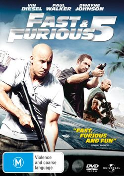 Fast and Furious 5: (DVD/UV)