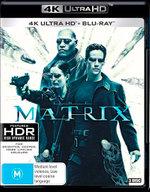 The Matrix (4K UHD/Blu-ray)