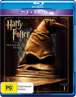 Harry Potter and the Philosopher's Stone (Year 1) (Two-Disc Special Edition) (Blu-ray/UV)