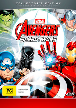 Avengers: Secret Wars - Season 4 (Collector's Edition)