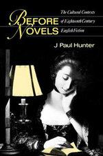 Before Novels