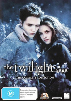 The Twilight Saga: The Complete Collection (Twilight / New Moon / Eclipse / Breaking Dawn - Part 1 / Breaking Dawn - Part 2)