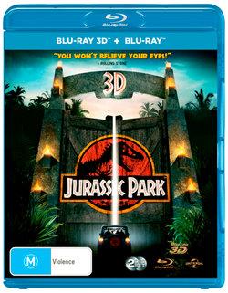 Jurassic Park 3D (3D Blu-ray/Blu-ray)