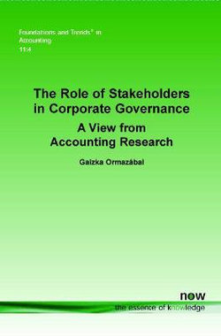 The Role of Stakeholders in Corporate Governance