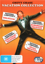 Chevy Chase Vacation Collection (National Lampoon's Vacation / European Vacation / Christmas Vacation / Vegas Vacation)