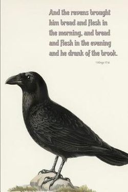 And the Ravens Brought Him Bread and Flesh in the Morning, and Bread and Flesh in the Evening and He Drank of the Brook
