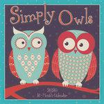 Simply Owls 2020 16-Month Calendar