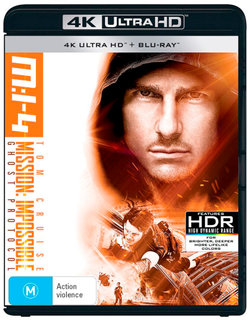 M:I-4 (Mission: Impossible - Ghost Protocol) (4K UHD / Blu-ray)