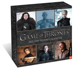 Game of Thrones 2021 Day-To-Day Calendar