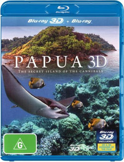 Papua 3D: The Secret Island of the Cannibals (3D Blu-ray/Blu-ray)