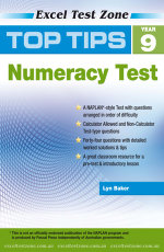 Top Tips Year 9 Numeracy Test