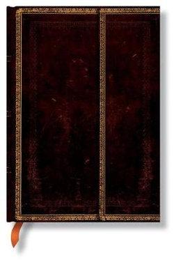 Old Leather, Black Moroccan, Midi, Lin