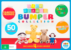 Play School: Bumper Collection (Famous Friends / 50 Best Songs / Story Time / Come to the Party)
