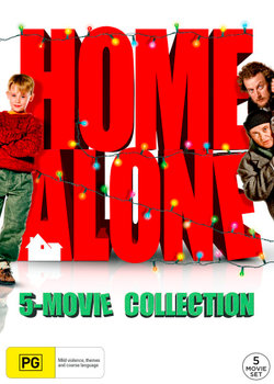 Home Alone: 5-Movie Collection (Home Alone/Home Alone 2: Lost in New York/Home Alone 3/Home Alone 4/Home Alone: The Holiday Heist)