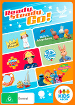 ABC Kids: Ready, Steady, Go! (Little Princess/Miffy's Adventures/Peter Rabbit/Fireman Sam/Sydney Sailboat/The Furchester Hotel)