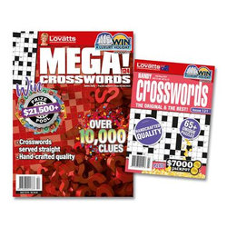 Lovatts Crosswords Bundle - 12 Month Subscription