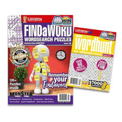 Lovatts Wordsearch Bundle - 12 Month Subscription