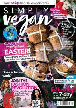 Simply Vegan - 12 Month Subscription