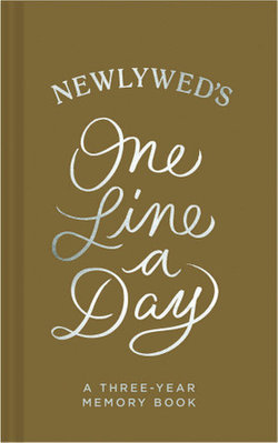 Newlywed One Line a Day