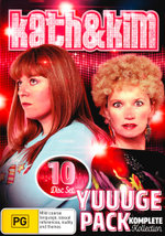 Kath & Kim: Yuuuge Pack - Komplete Kollection (Series 1 - 4 / Kath & Kimderella: The Movie / Da Kath & Kim Code)
