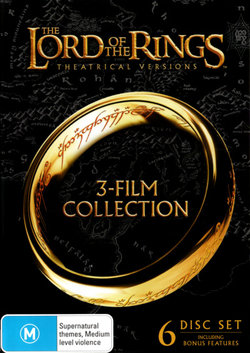 The Lord of the Rings: Theatrical Versions (3-Film Collection) (The Fellowship of the Ring / The Two Towers / The Return of the King)