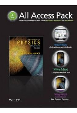 All Access Pack Fundamentals of Physics Extended