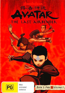 Avatar The Last Airbender: Book 3 Fire - Volume 1