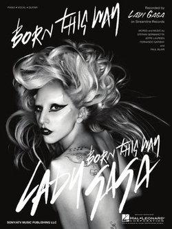 Born This Way Sheet Music