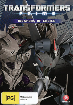 Transformers: Prime - Weapons of Choice