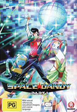 Space Dandy: Part 1 (Episodes 1-13)